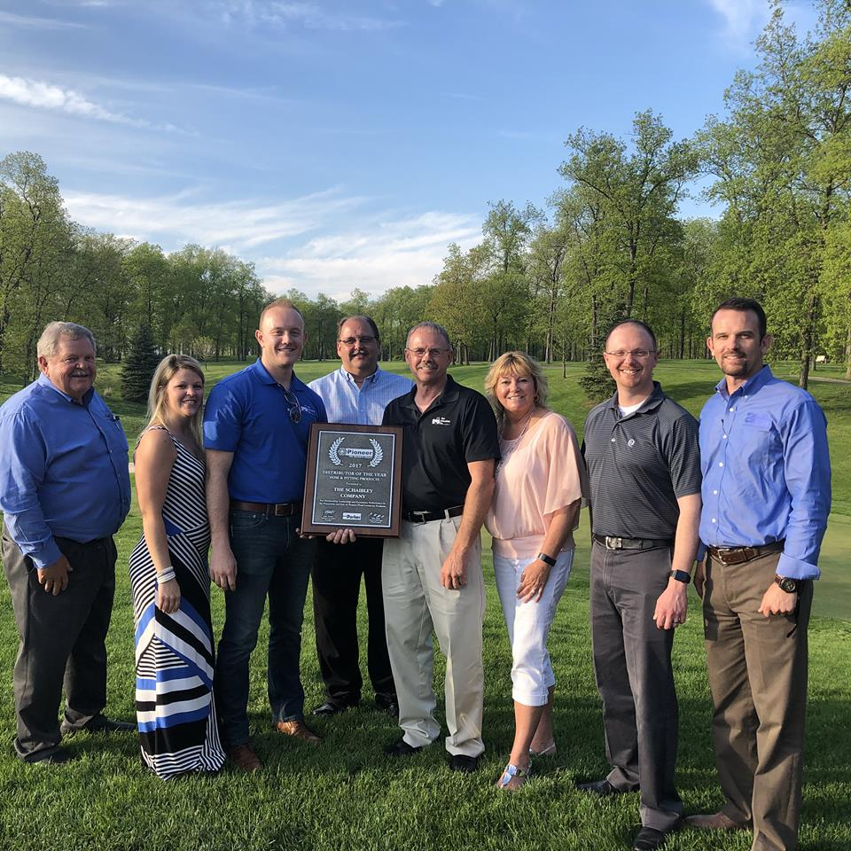 Schaibley Wins 2017 Distributor of the Year Award: Pioneer Hose & Fitting Products