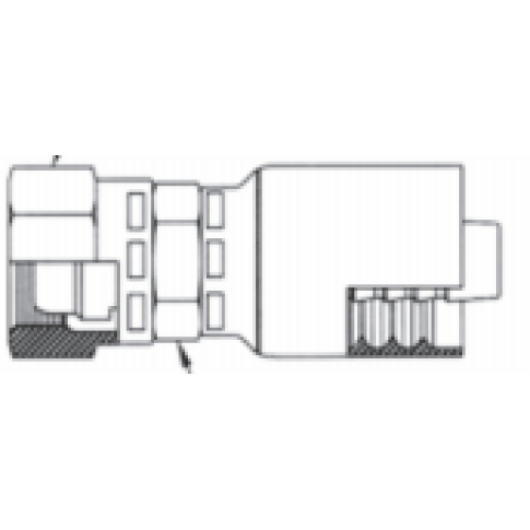 Couplamatic Crimp-On Fittings
